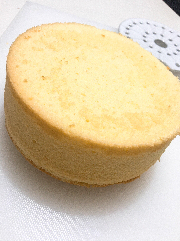 六寸戚风蛋糕(掌握这几点,做戚风就跟煮米饭一样简单)的做法 步骤18