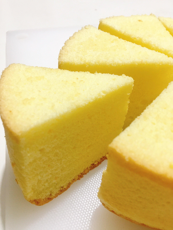 六寸戚风蛋糕(掌握这几点,做戚风就跟煮米饭一样简单)的做法 步骤19