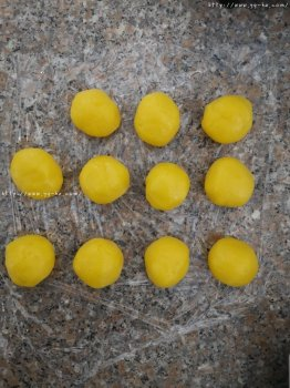 奶黄包奶黄馅制作的做法