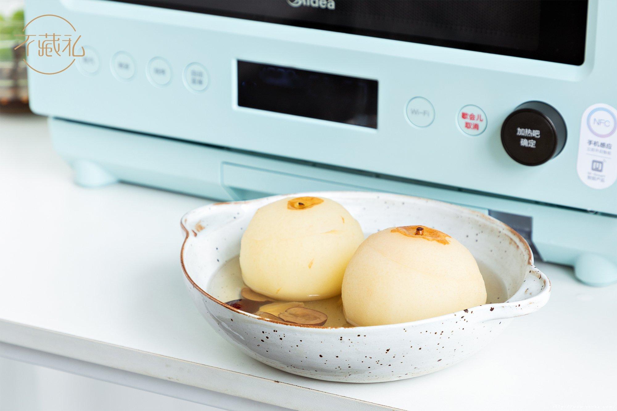 3款快手甜品:马克杯蛋糕、香橙蒸蛋糕、百合冰糖炖雪梨 【不藏私】的做法 步骤19