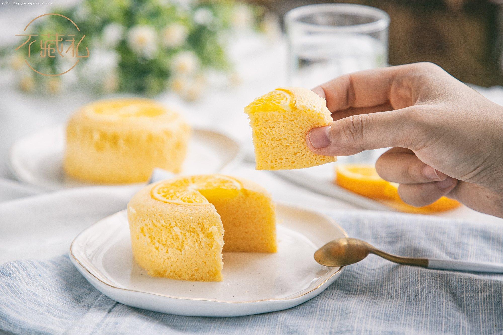 3款快手甜品:马克杯蛋糕、香橙蒸蛋糕、百合冰糖炖雪梨 【不藏私】的做法 步骤6