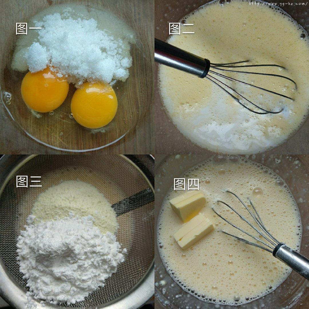 简易版奶黄馅/五分钟搞定!(奶香实足)的做法 步骤2