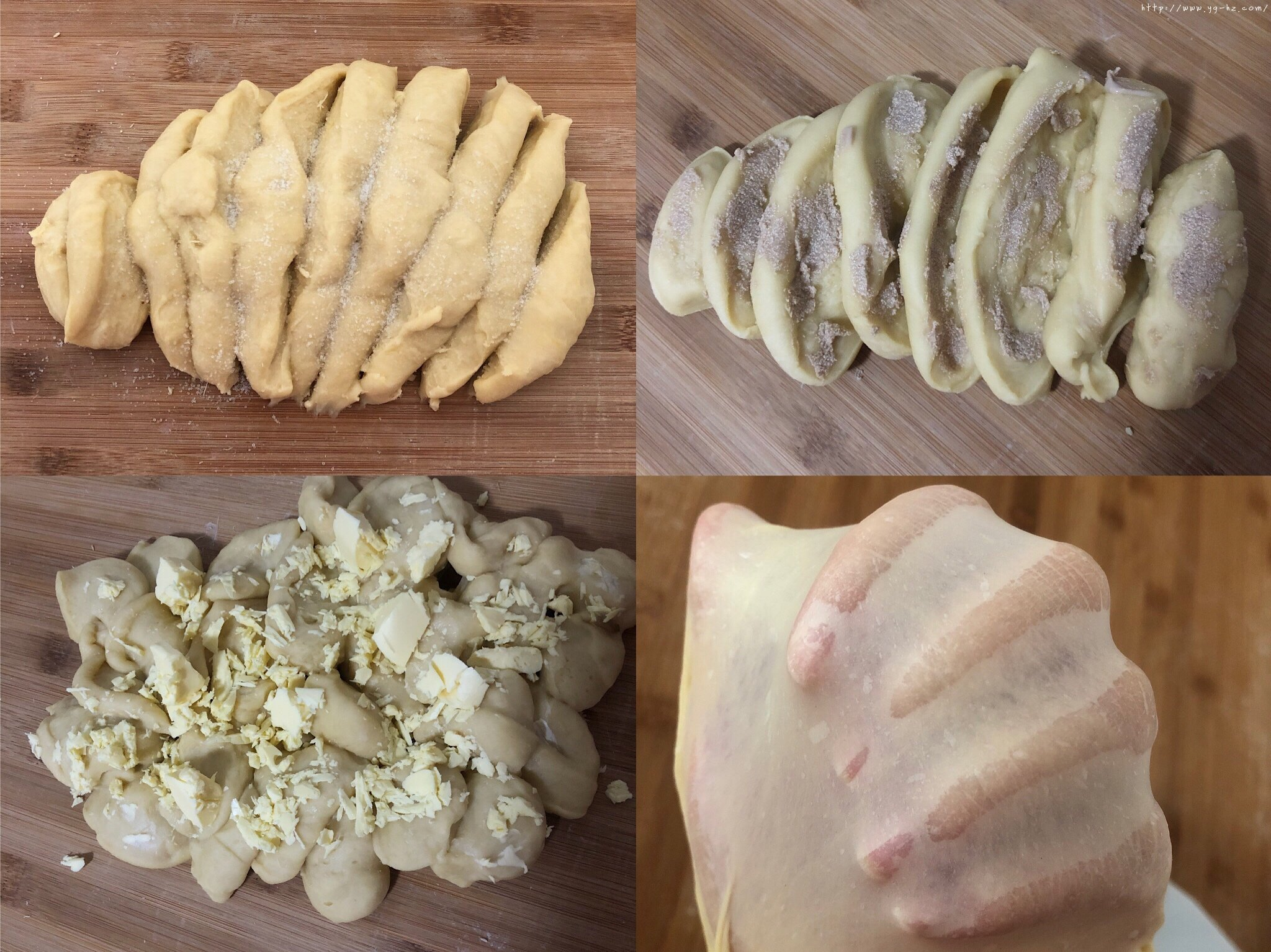 香甜软绵的卡士达夹心面包(后酵母法)的做法 步骤5