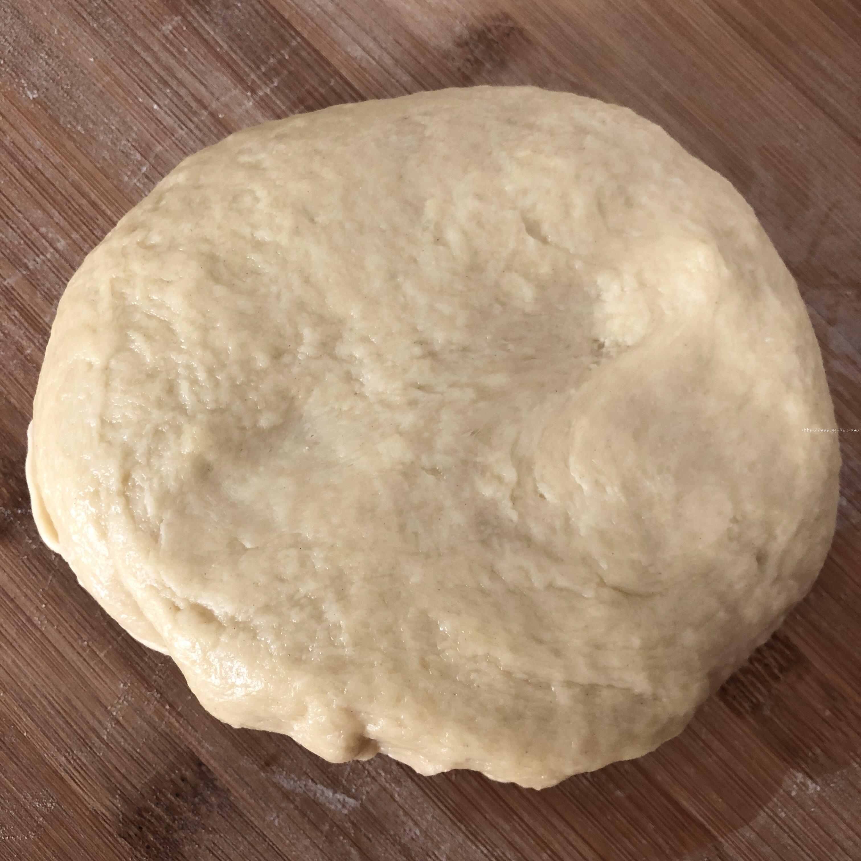 香甜软绵的卡士达夹心面包(后酵母法)的做法 步骤4
