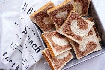 波兰种可可全麦面包的做