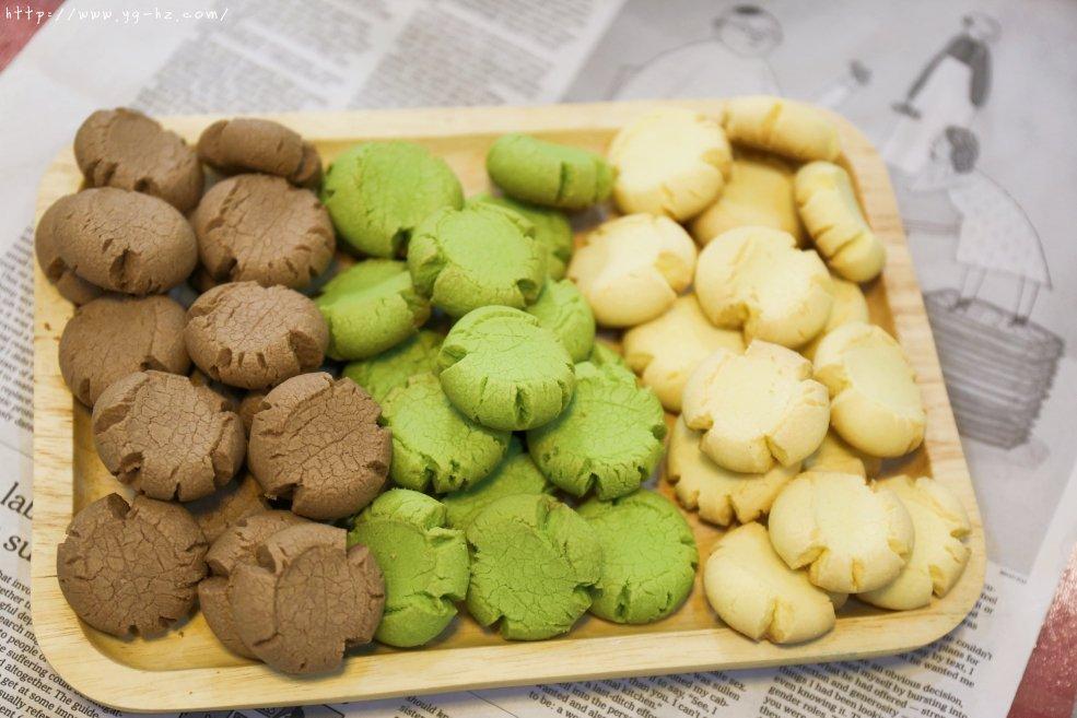 爱的手印——三种口味玛格丽特饼干的做法