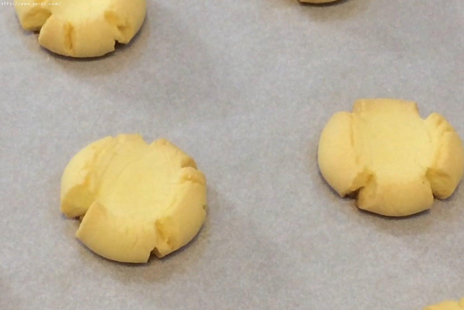 爱的手印——三种口味玛格丽特饼干的做法 步骤9