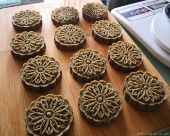 用动图教你自制绿豆糕(