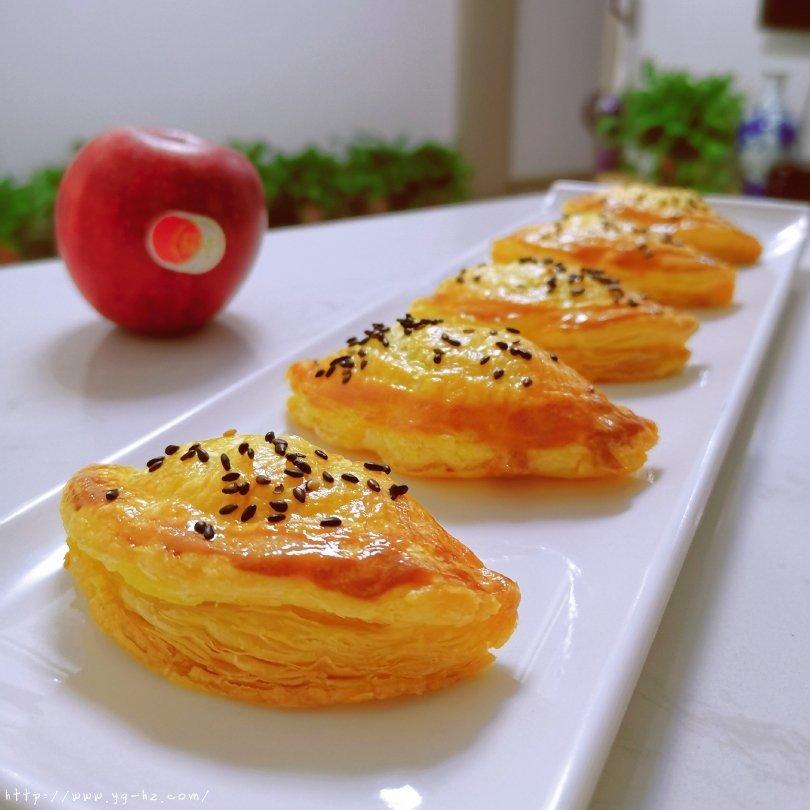 苹果派(超快手)菠萝派、香蕉派、红豆派的做法 步骤14