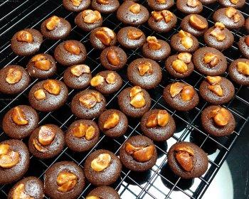 快手零失败巧克力脆片小饼干(消耗蛋清)的做法步骤图