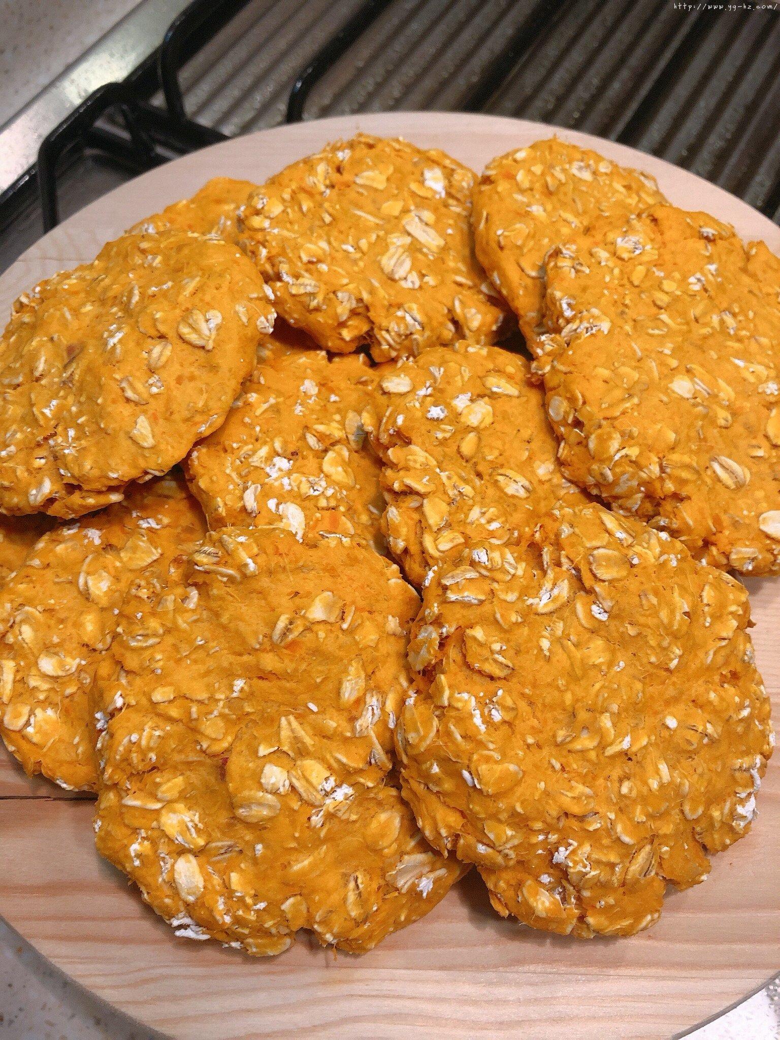 超简单红薯燕麦饼(饱腹+健康+儿童健康副食)的做法 步骤6
