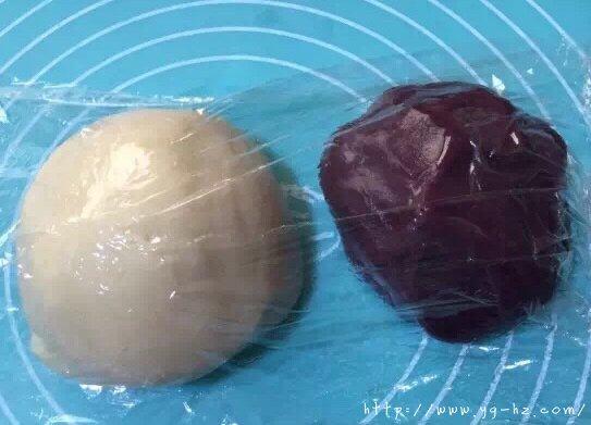 香酥千层紫薯酥(玉米油版)的做法 步骤3