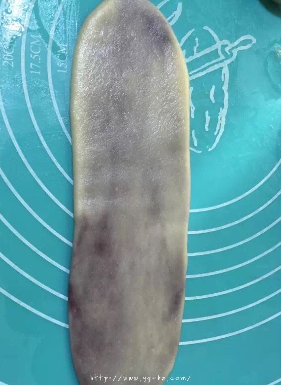 香酥千层紫薯酥(玉米油版)的做法 步骤7