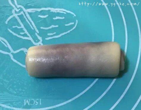 香酥千层紫薯酥(玉米油版)的做法 步骤8