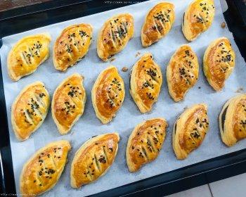 蛋挞皮版红豆酥的做法步