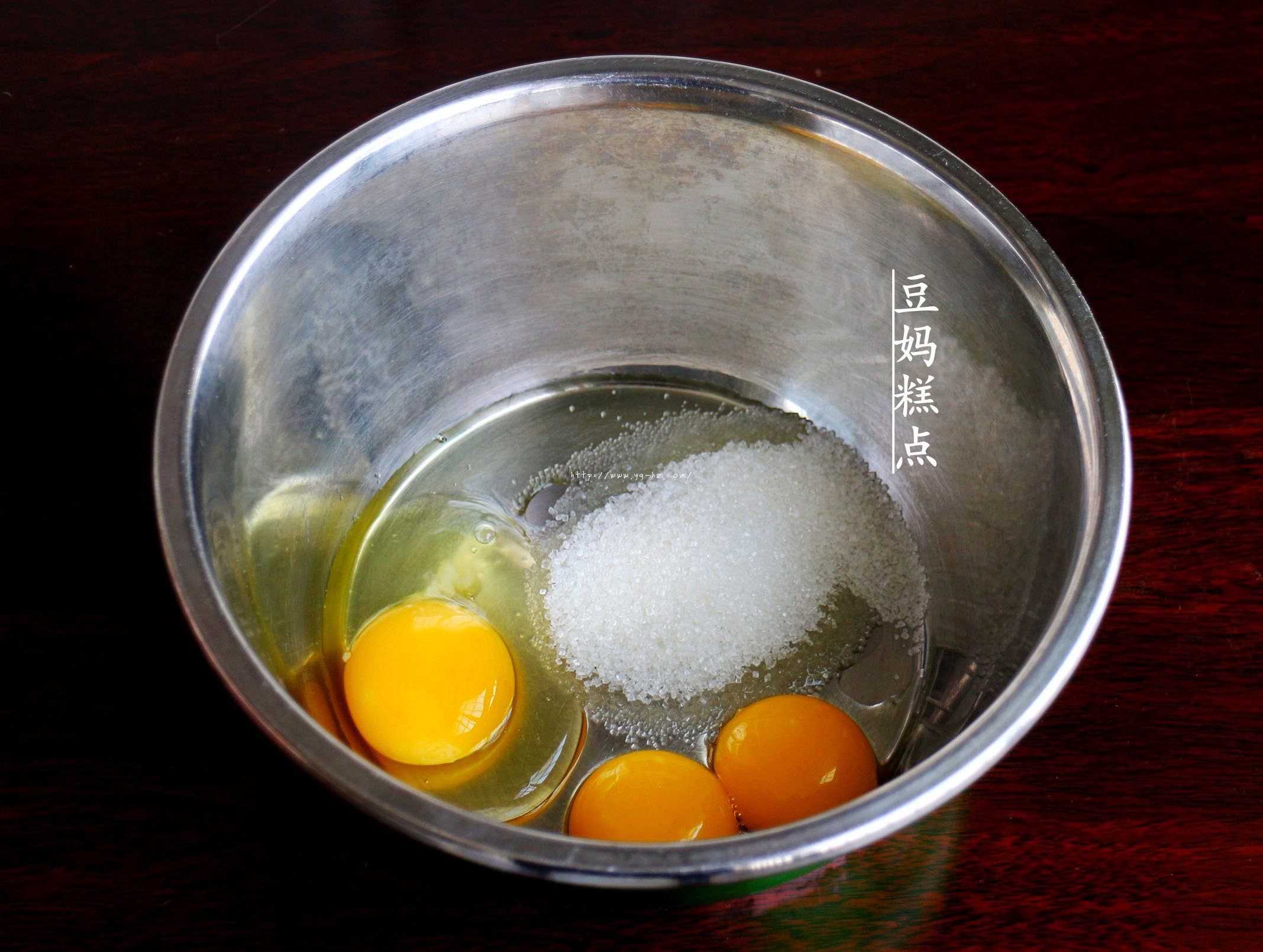 鸡蛋小饼干,又香又酥,比买的还好吃的做法 步骤2