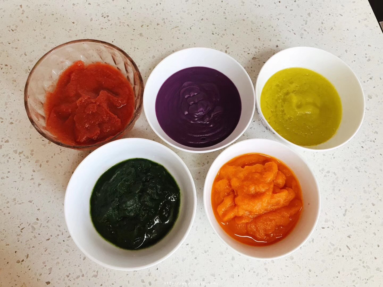 超详细版-果蔬蛋黄溶豆-无糖无淀粉的做法 步骤2