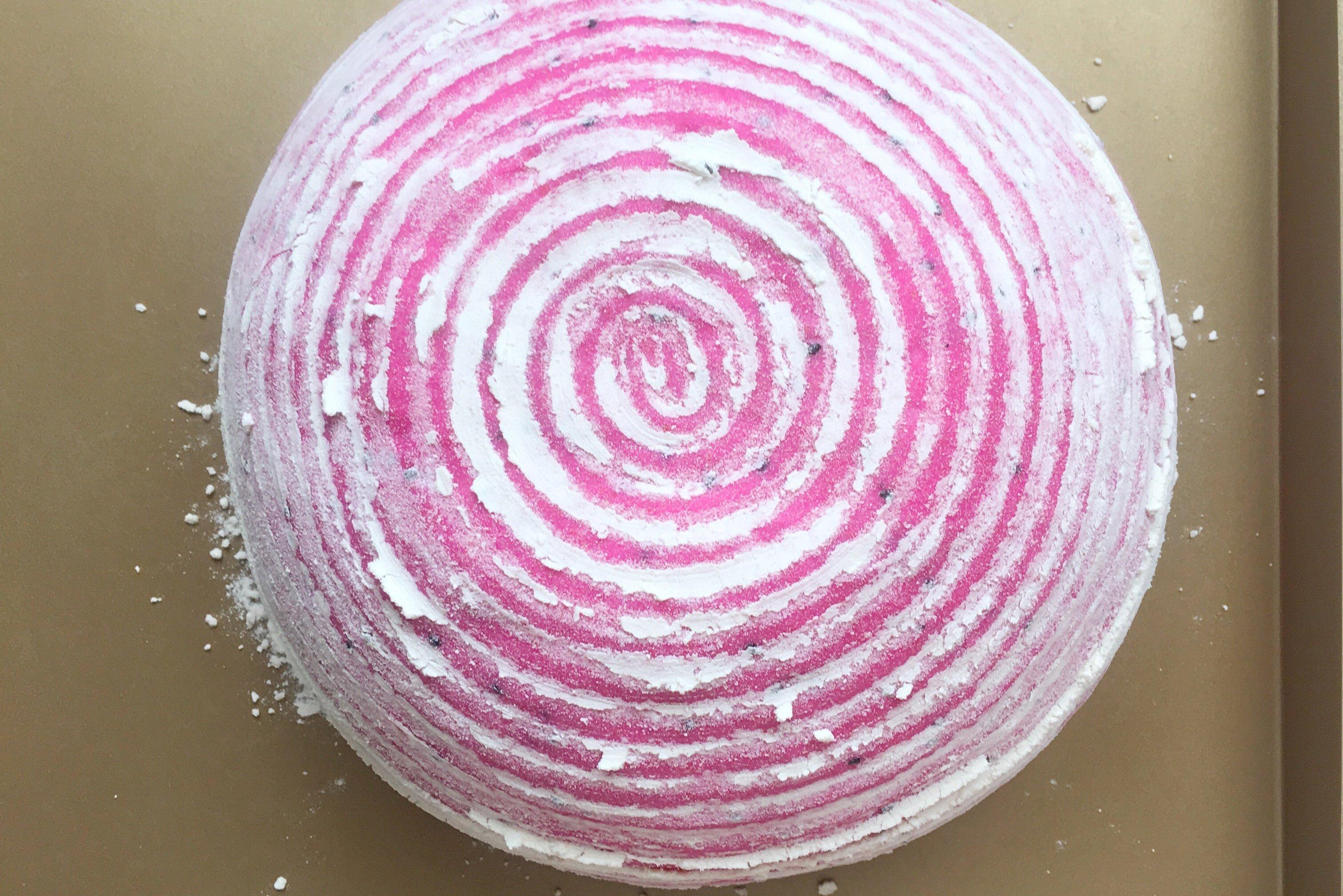 火龙果全麦坚果面包的做法 步骤12