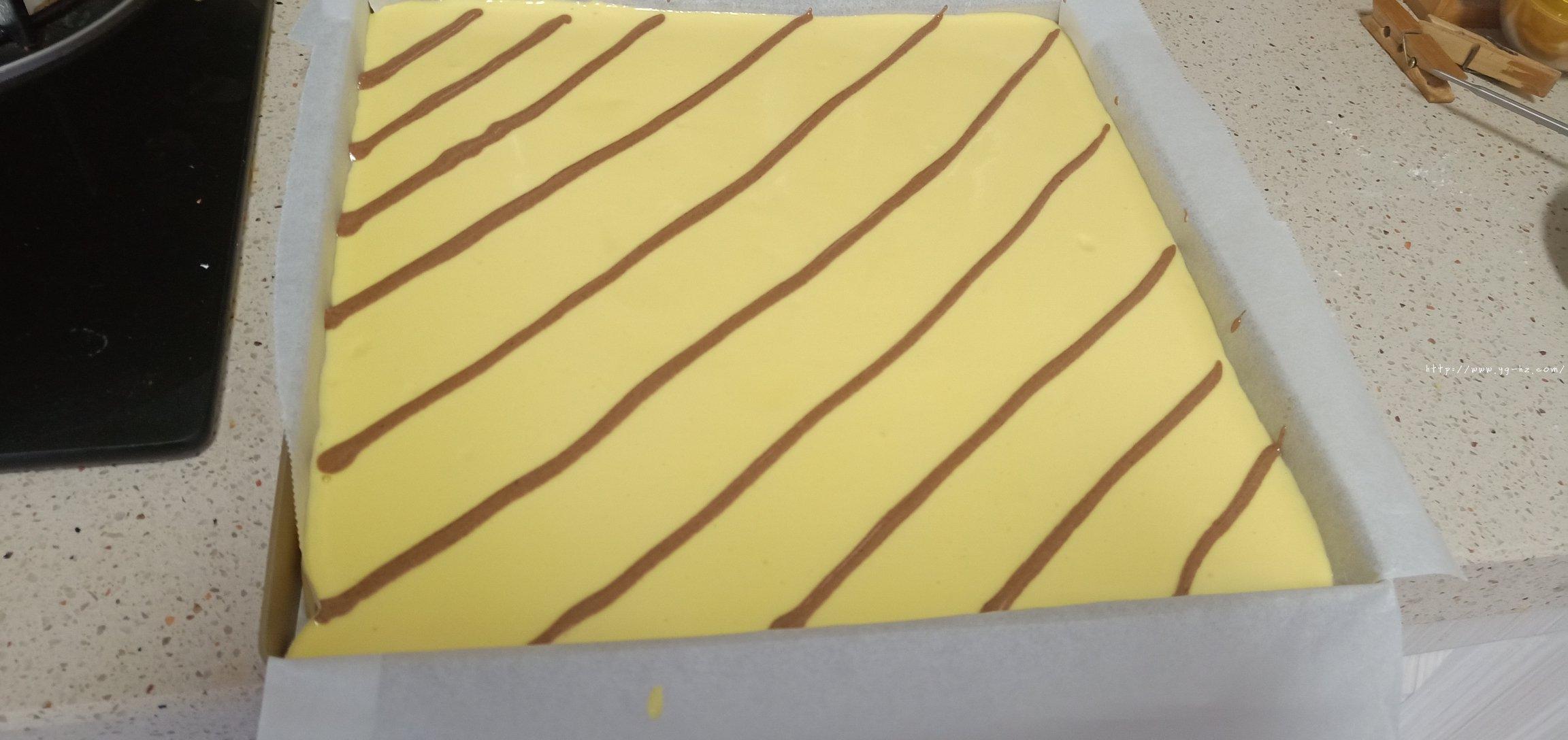 拉花蛋糕卷(特详细)的做法 步骤9