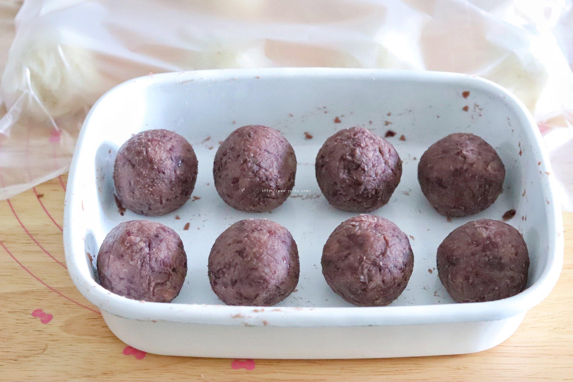 日式樱花红豆包的做法 步骤12