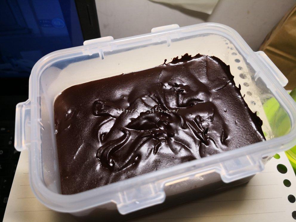 可可粉制简易巧克力的做法 步骤4