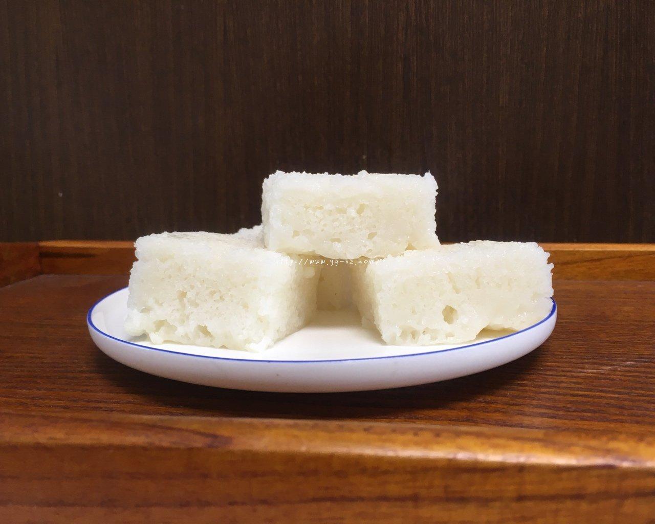 酒酿粘米发糕的做法
