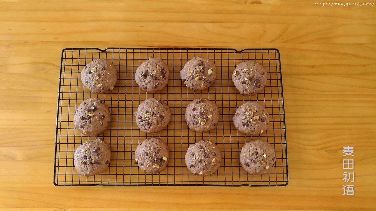 香浓柔软的巧克力软曲奇的做法 步骤27