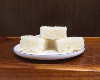 酒酿粘米发糕的做法步骤图,怎么做好吃