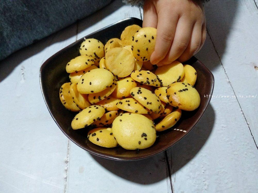 无油低糖鸡蛋小饼干(超级健康的小零食)的做法 步骤5