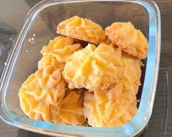 酥酥的黄油曲奇的做法步