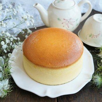 生酮日式轻芝士蛋糕——