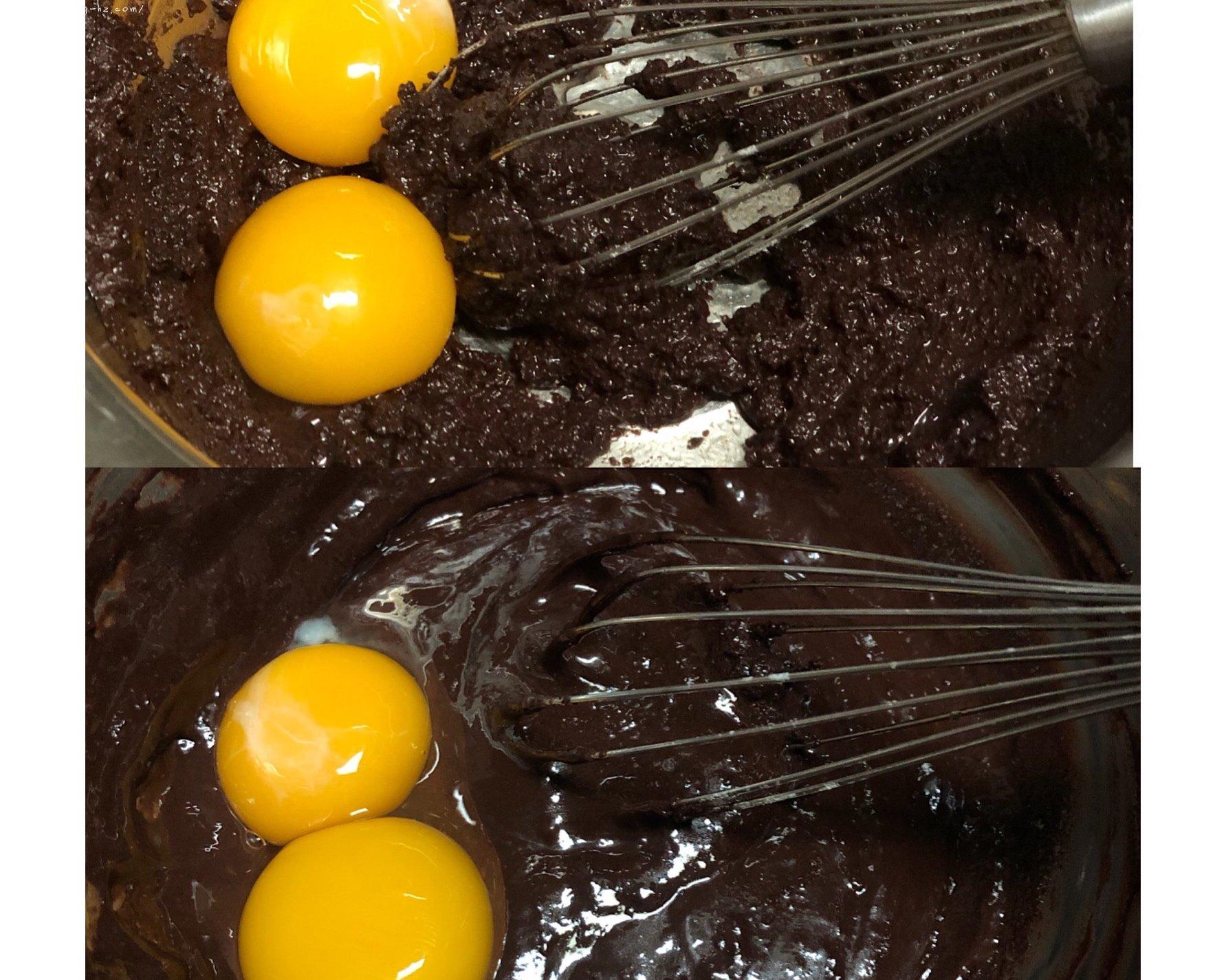 香浓巧克力蛋糕卷的做法 步骤2