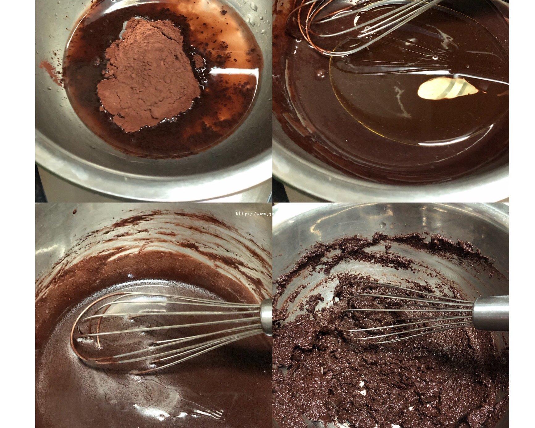 香浓巧克力蛋糕卷的做法 步骤1