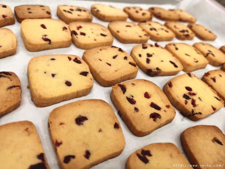 新手零失败酥脆蔓越莓曲奇饼干‼️的做法 步骤8