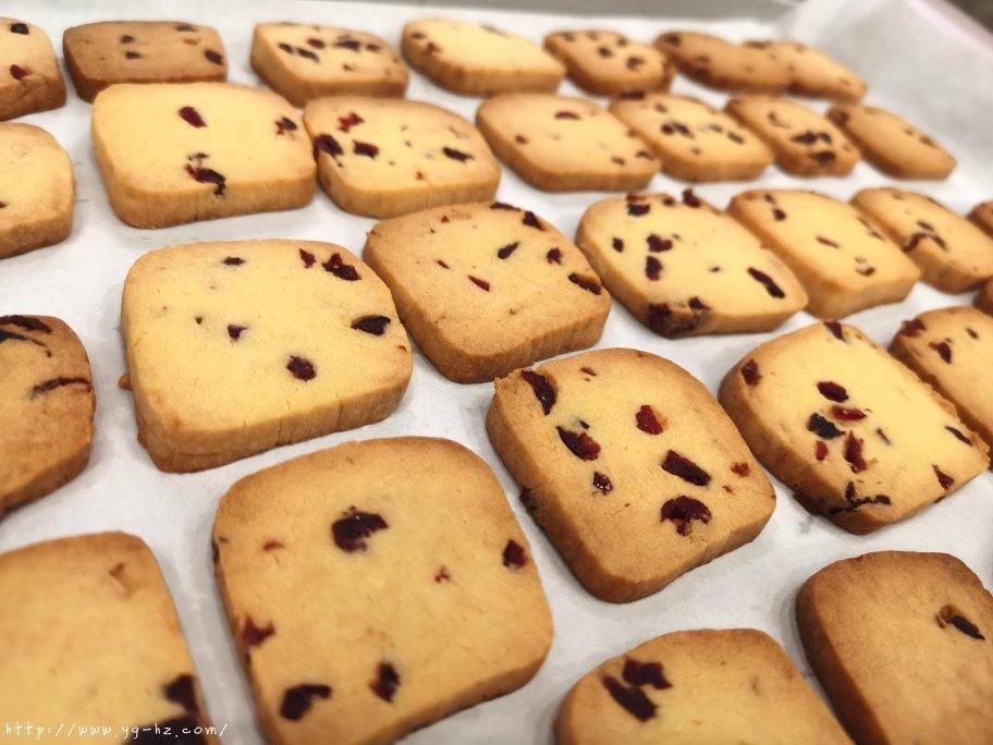新手零失败酥脆蔓越莓曲奇饼干‼️的做法