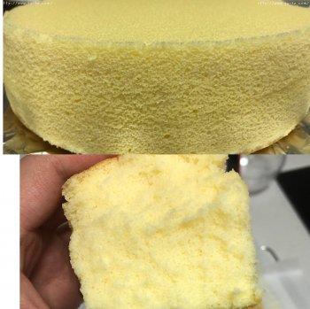 8寸酸奶古早蛋糕的做法