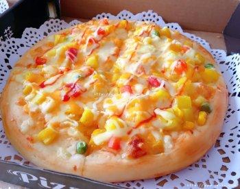 菠萝披萨的做法步骤图,