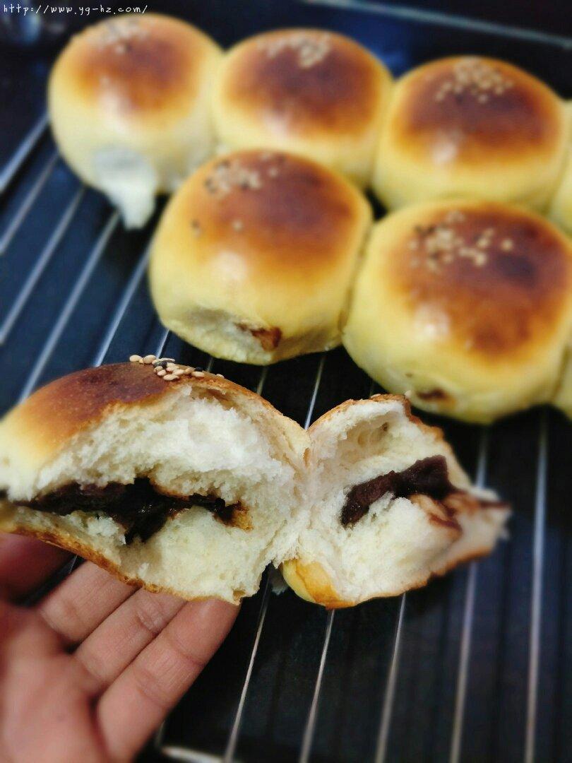 超软牛奶面包家庭简单版(不加黄油)的做法 步骤21