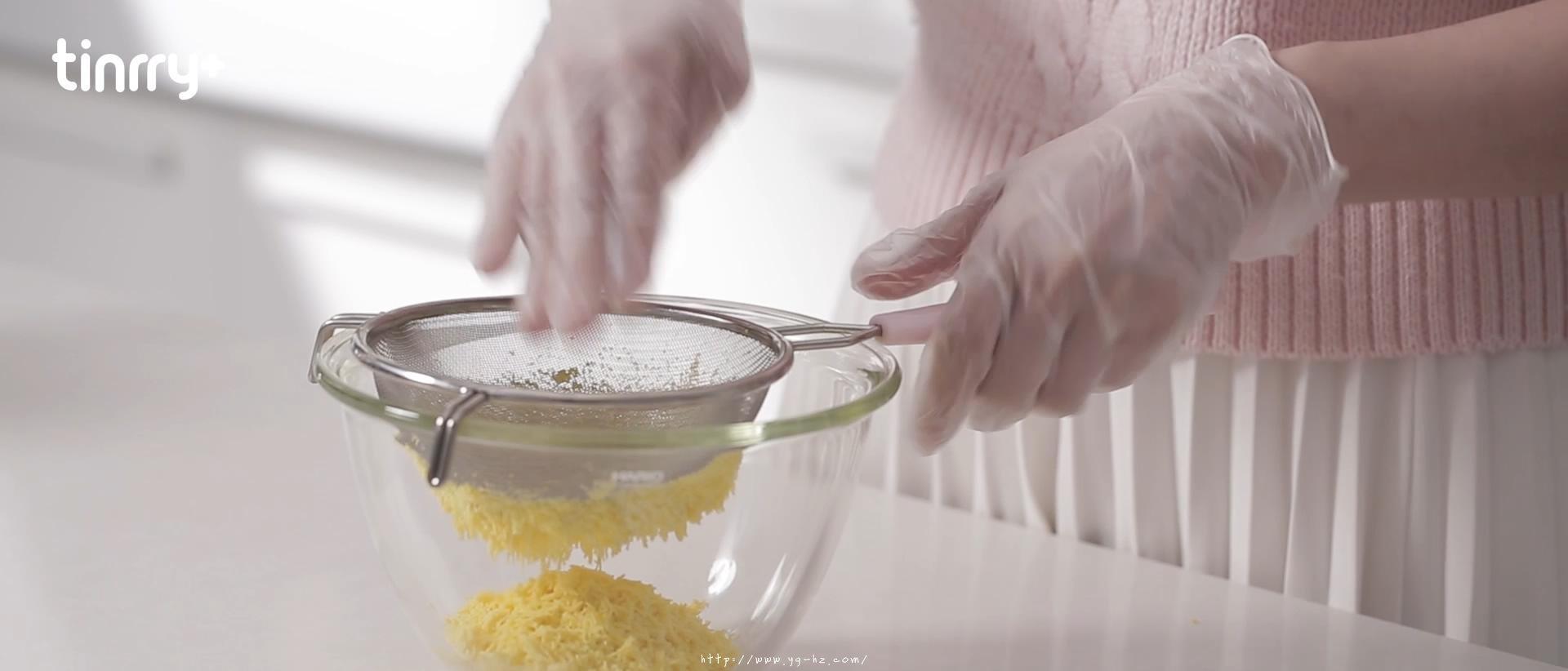 《Tinrry+》超香浓酥松的玛格丽特小饼干,入口即化的做法 步骤4