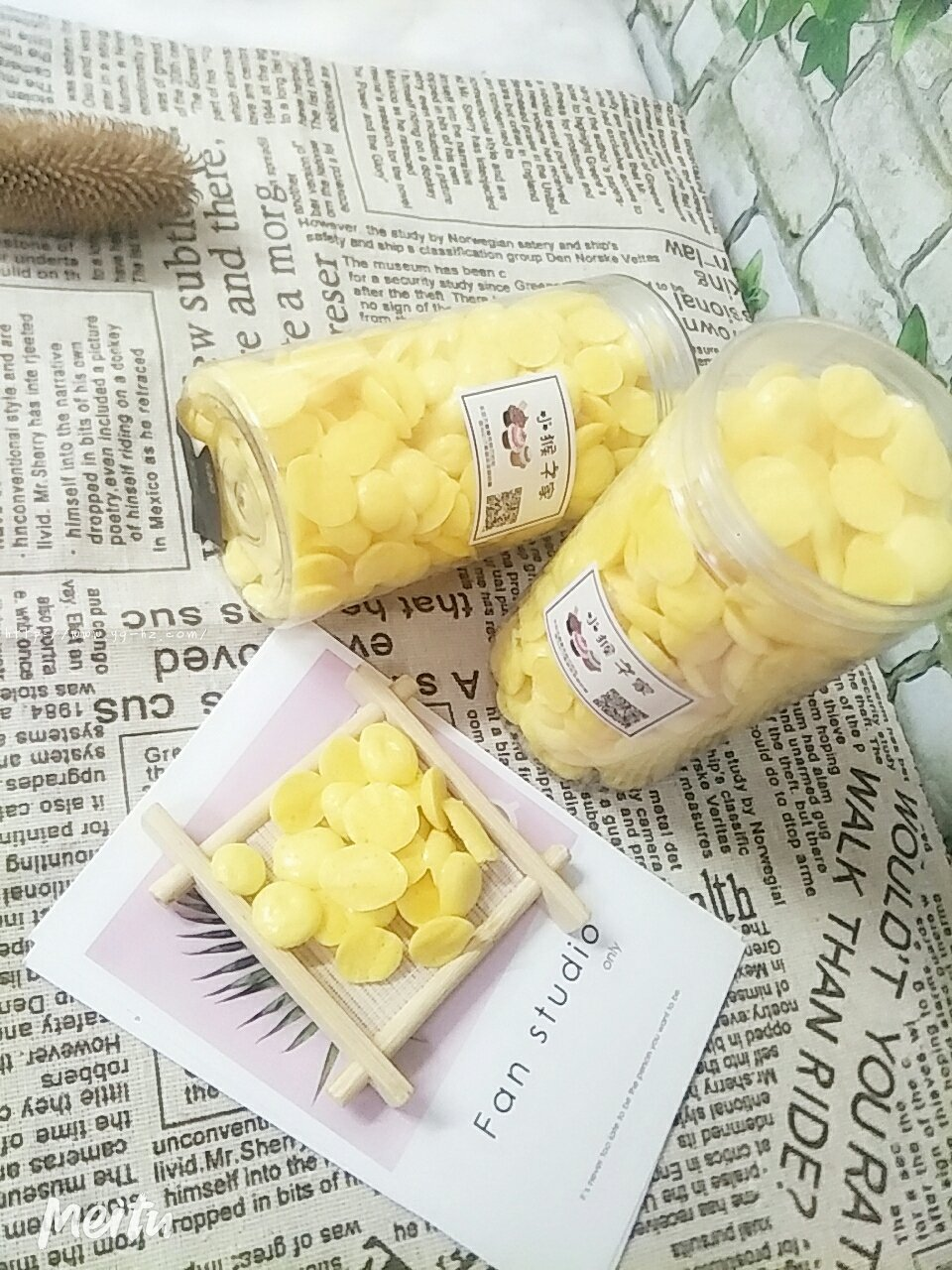 超好吃,超简单的,六个月以上婴儿辅食蛋黄溶豆的做法 步骤4