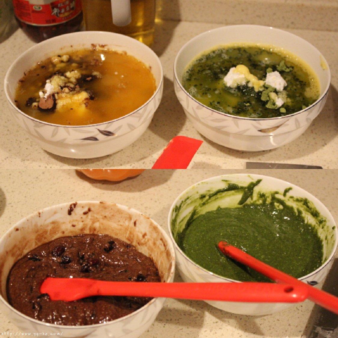 『抹茶奶酥·可可奶酥碱水球』的做法 步骤8
