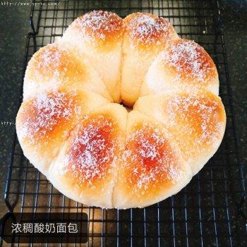 黄油浓稠酸奶面包的做法