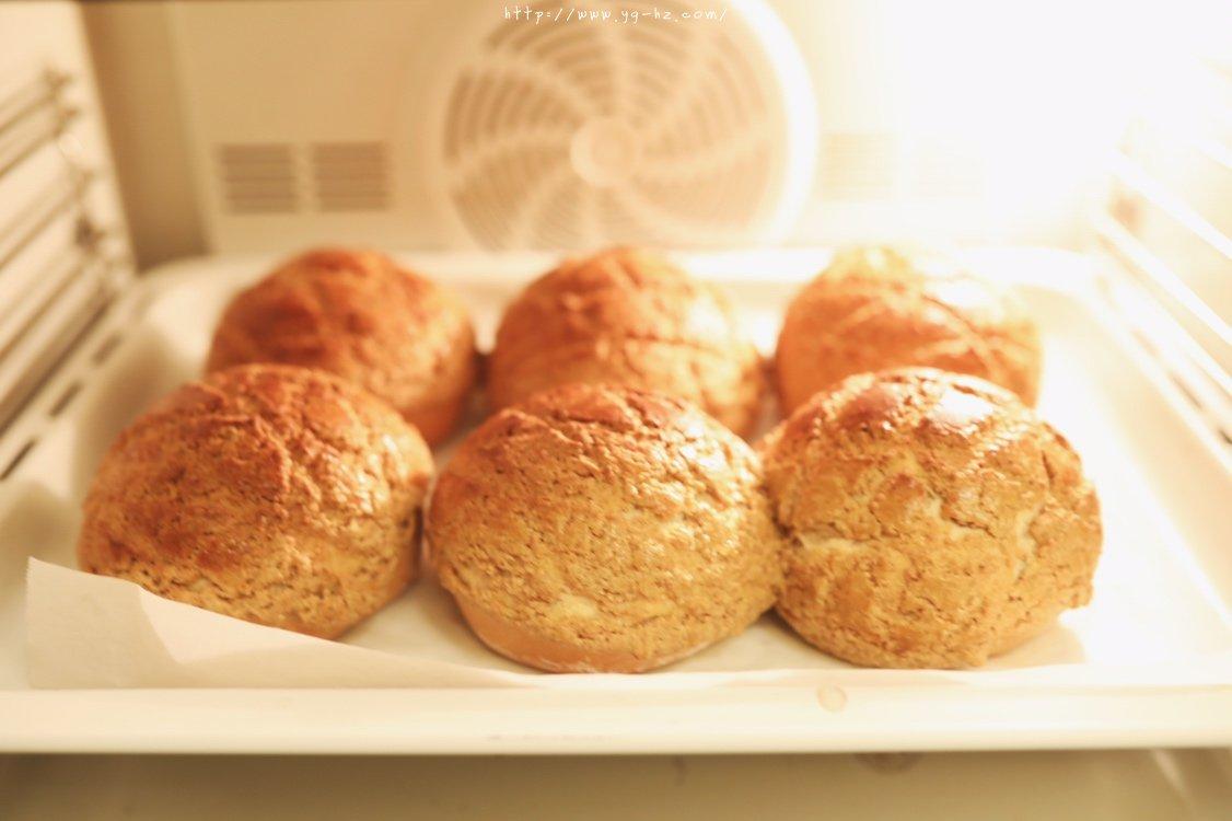 香酥咖啡菠萝包「北鼎烤箱食谱」的做法 步骤14
