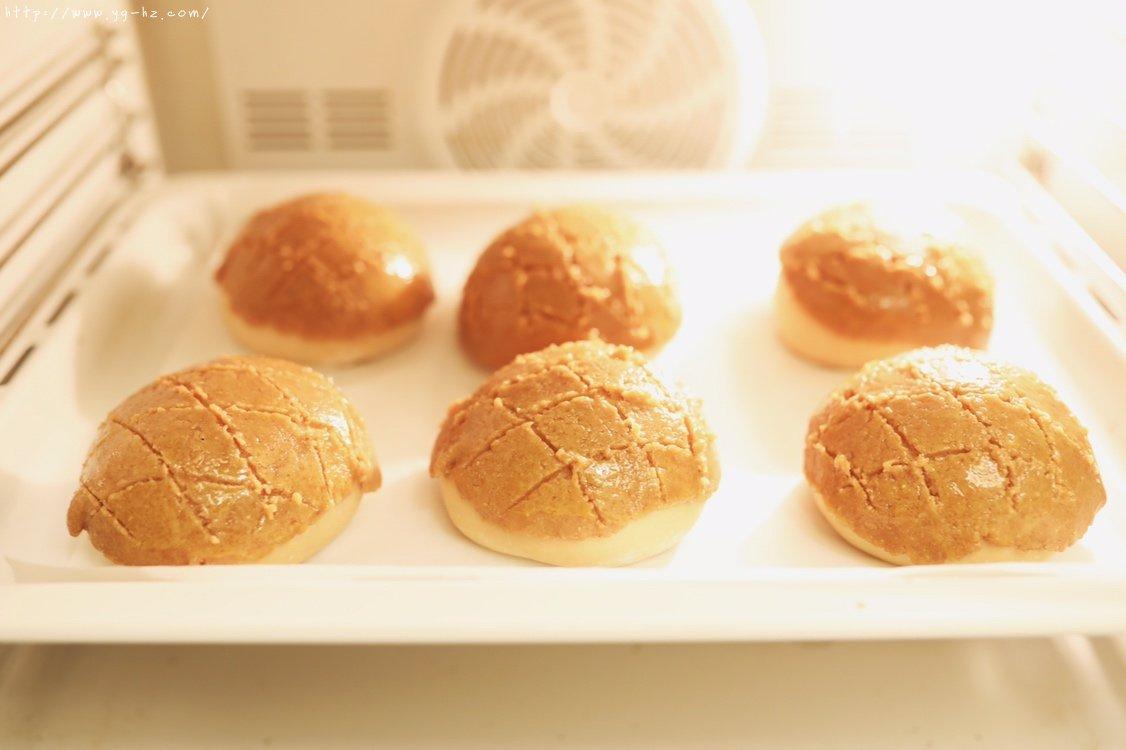 香酥咖啡菠萝包「北鼎烤箱食谱」的做法 步骤13