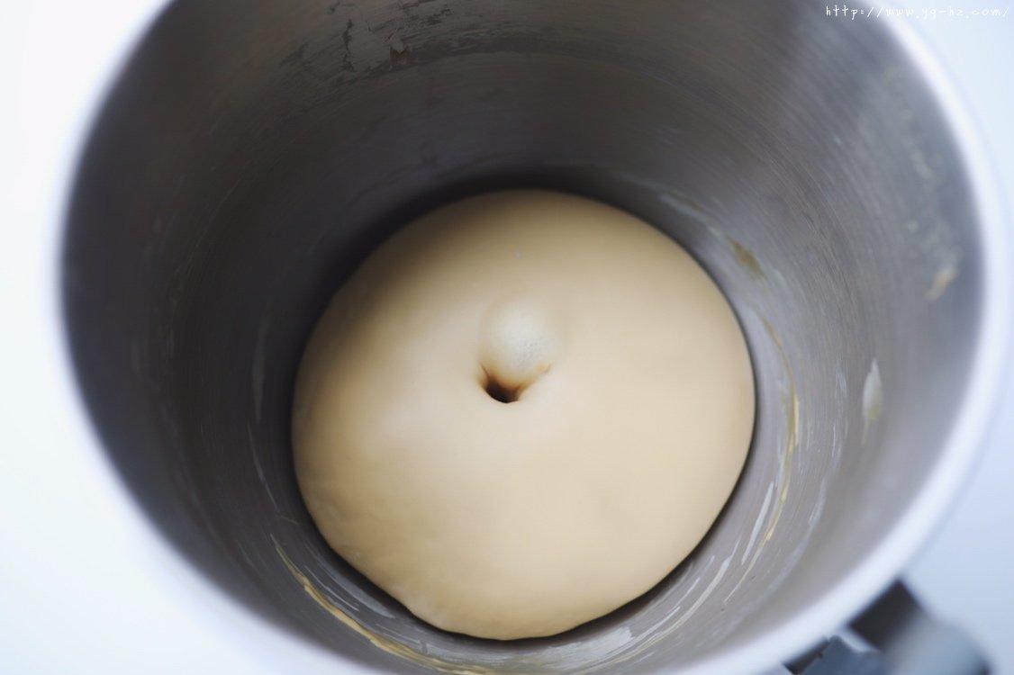 香酥咖啡菠萝包「北鼎烤箱食谱」的做法 步骤4