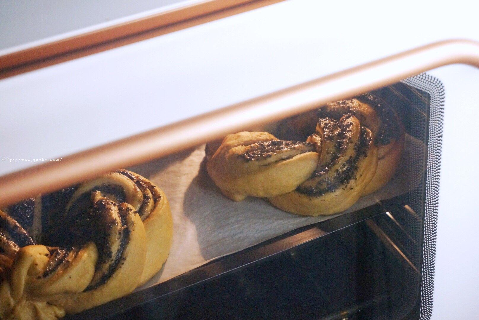 养生黑芝麻红糖全麦fafa软欧面包(波兰种)的做法 步骤22