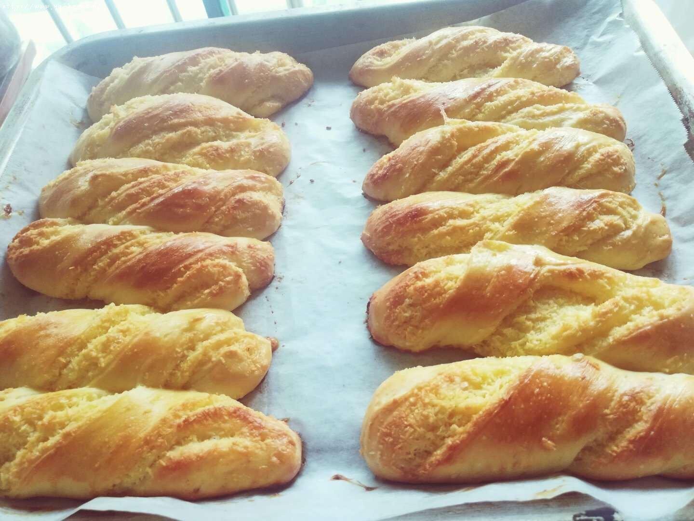 椰蓉面包的做法 步骤12