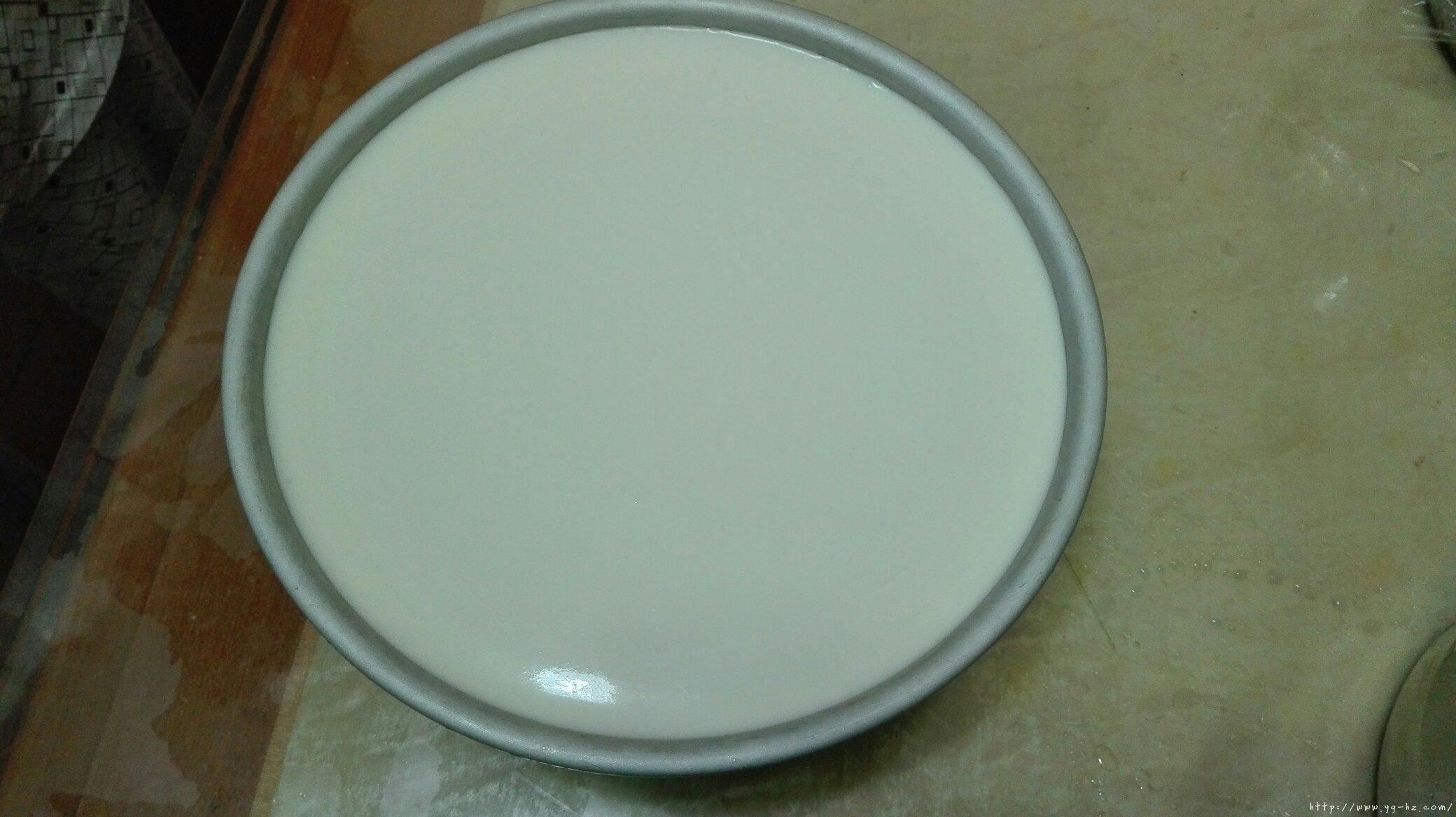 8寸原味酸奶慕斯蛋糕的做法 步骤4