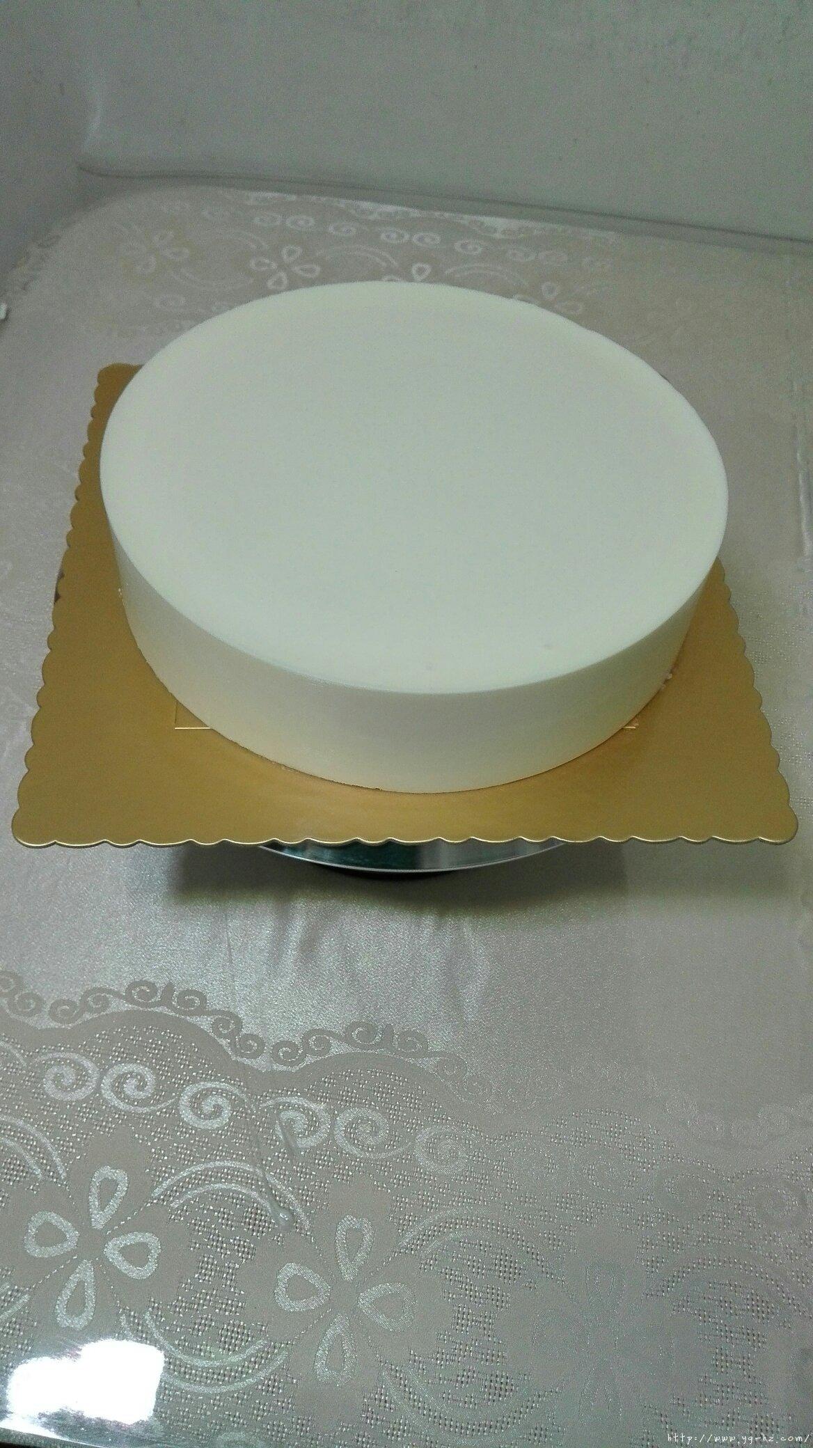 8寸原味酸奶慕斯蛋糕的做法 步骤6