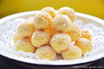 椰蓉小酥球的做法步骤图,椰蓉小酥球怎么做好吃